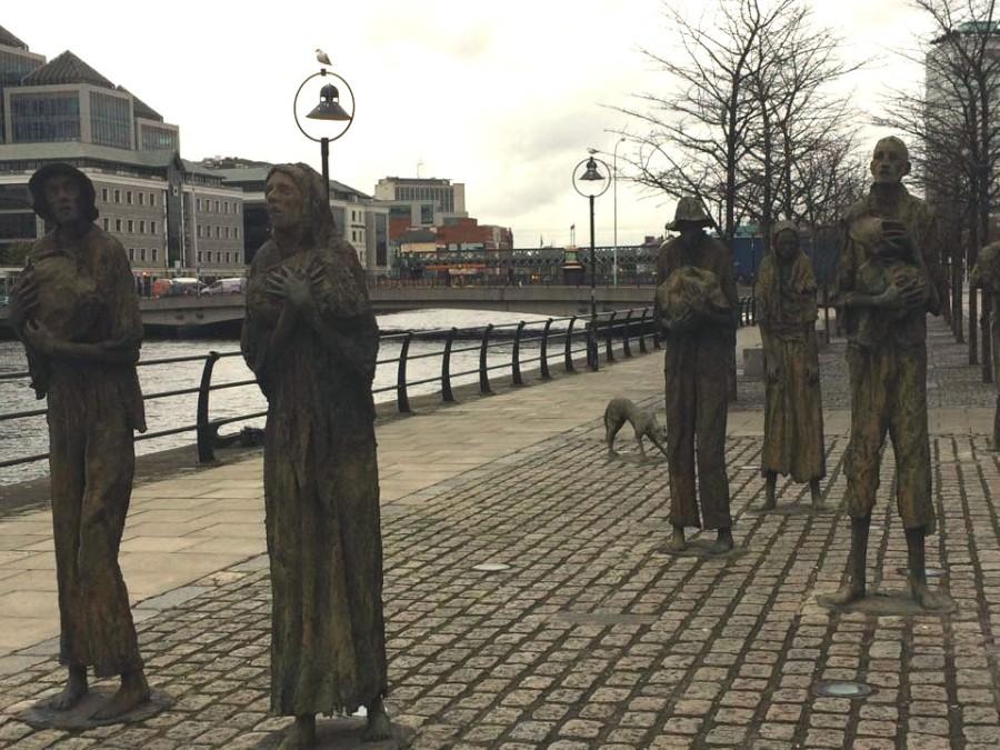 Famine memorial 1